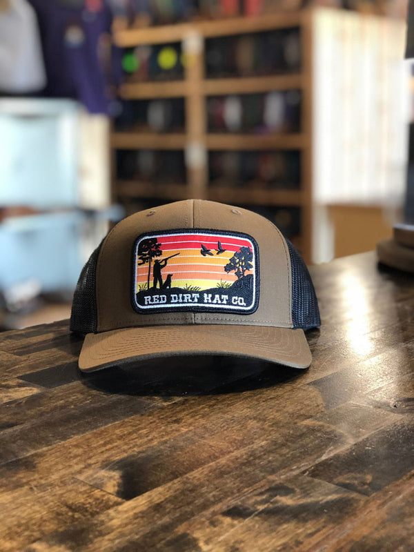 Red Dirt Hat Co. Flight Canceled Cap Brown/Black