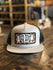 Red Dirt Hat Co. Great Wht Buff 5-Panel Cap Silver/Black OS