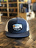 Red Dirt Hat Co. Mountain Buffalo Cap Navy/White OS