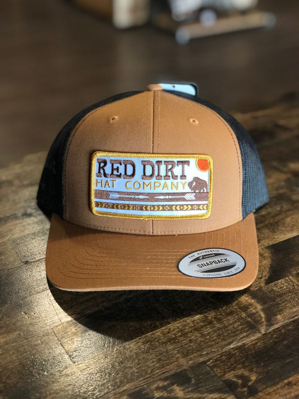 Red Dirt Hat Co. Arrows Cap Caramel/Black OS