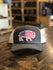 Red Dirt Hat Co. USA Buffalo Cap Charcoal/Wht OS