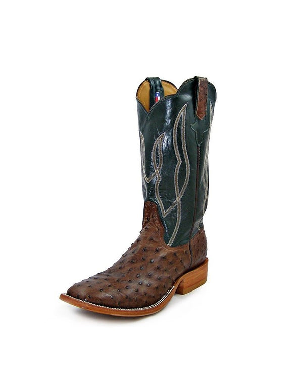 Rios of Mercedes | Cafe American Full Quill  Ostrich Boot