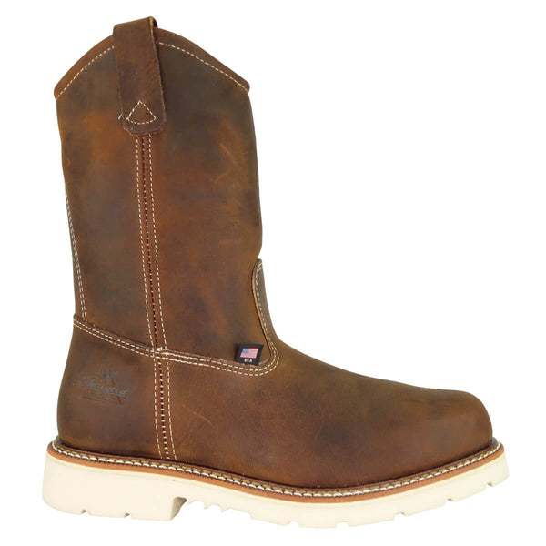 "Thorogood | American Heritage-11"" Tobacco Pull-on Wellington Safety Toe Boot"