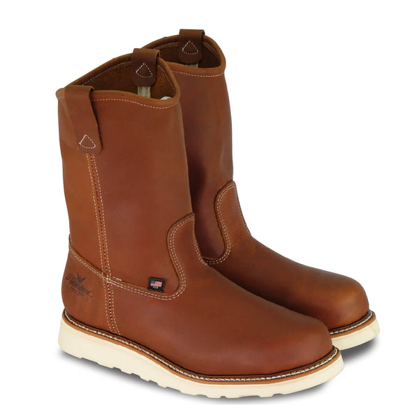"Thorogood | American Heritage-11"" Tobacco Pull-on Wellington Boot"