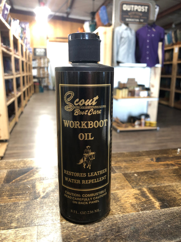 MF Scout Workboot Oil Liquid 8 oz