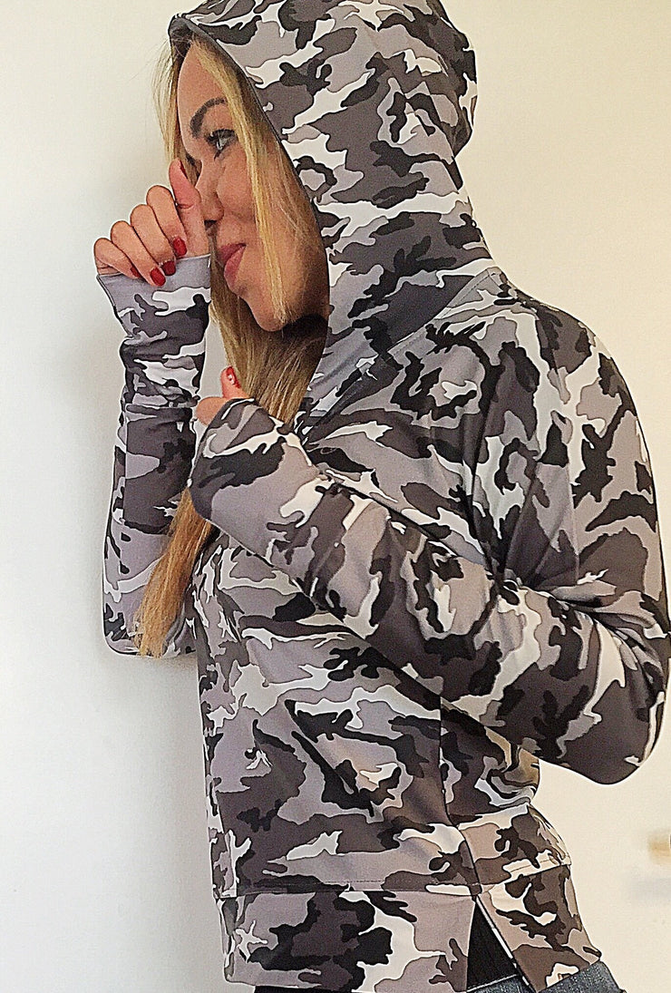 Jenna Running Hoodie (All colors/prints) - ABS2B FITNESS APPAREL