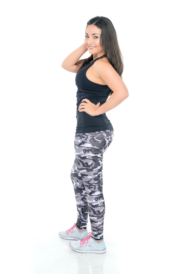Camo B&W - ABS2B FITNESS APPAREL