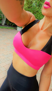Party Animal Fuchsia Set - ABS2B FITNESS APPAREL