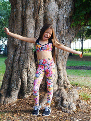Minime Collection Leggings (kids/girls all prints) - ABS2B FITNESS APPAREL