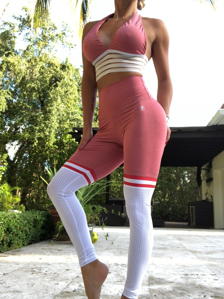 Soccer Mom Thigh High leggings in Dark Permission (JUST LEGGINGS) - ABS2B FITNESS APPAREL
