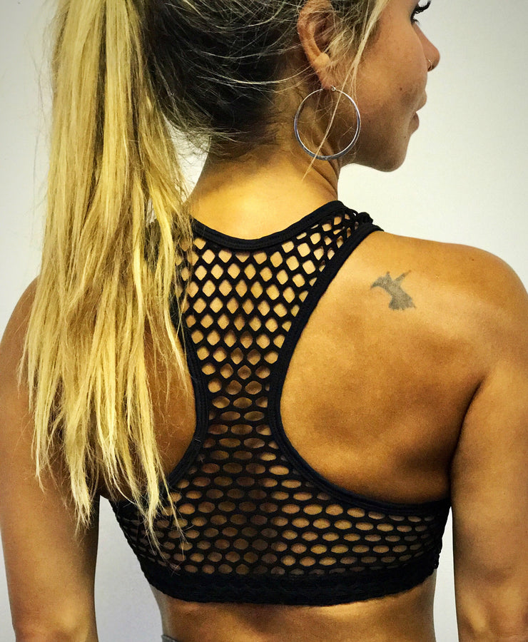 The Net Bra - ABS2B FITNESS APPAREL