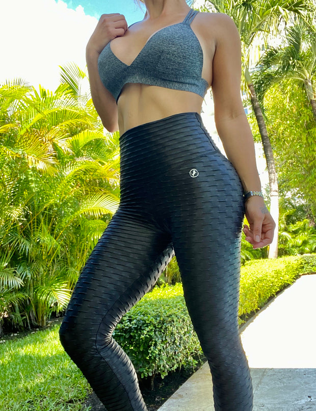 Zero Flaws Metallic Black - ABS2B FITNESS APPAREL