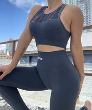 Rebel Seamless Set Shark Gray - ABS2B FITNESS APPAREL