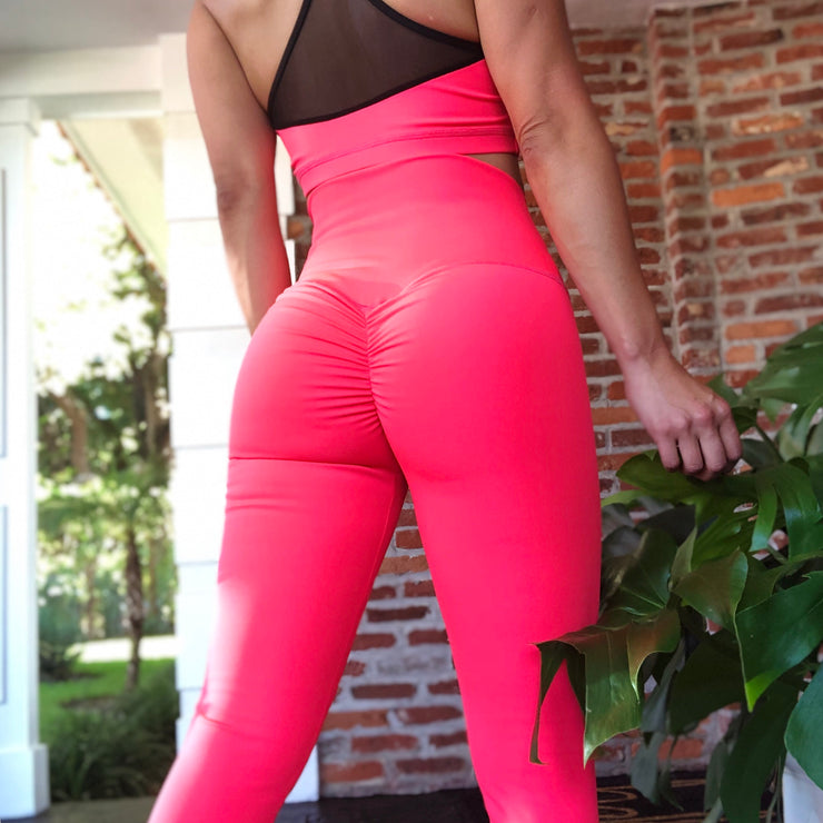 Neon Fluorescent Coral - ABS2B FITNESS APPAREL