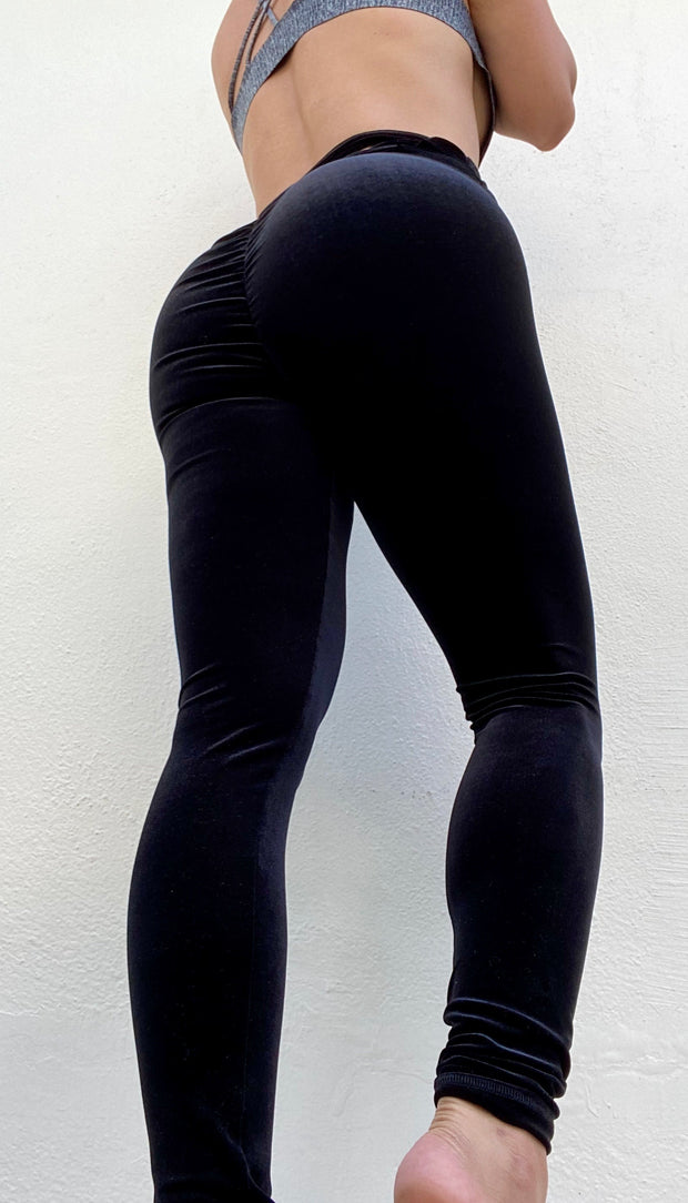 Smooth Velvet Halo Black - ABS2B FITNESS APPAREL