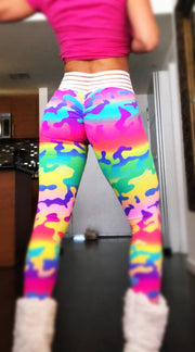 Rainbow Camo - ABS2B FITNESS APPAREL
