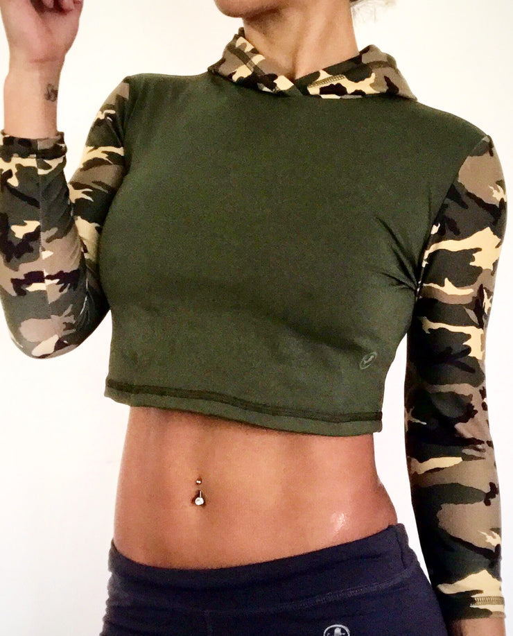 Isabella Cropped Hoodie (all colors and prints)