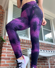 Zero flaws Brazilian Tie Dye Black and Purple