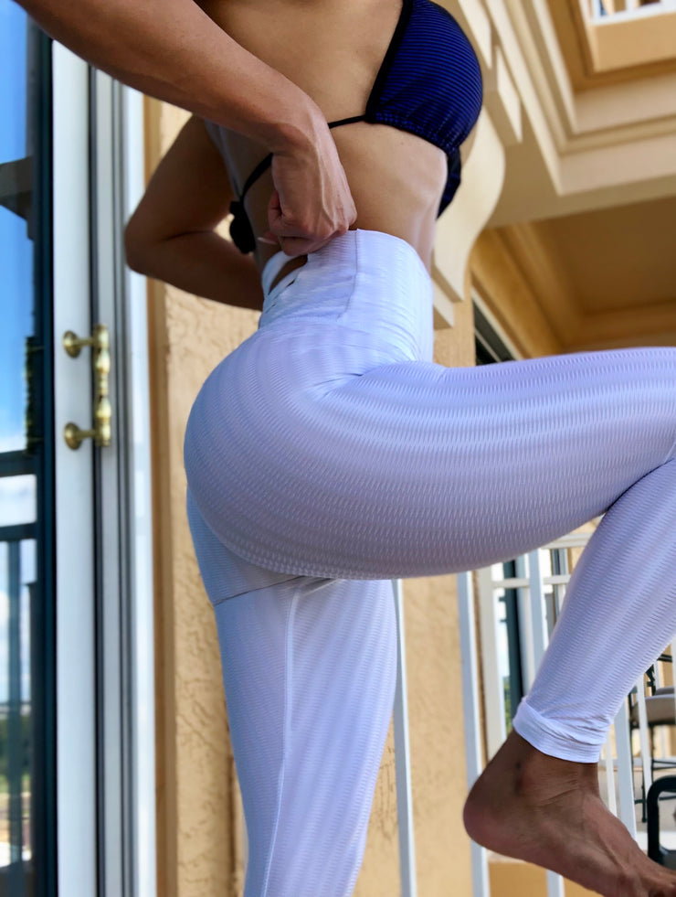Flow Pure White - ABS2B FITNESS APPAREL