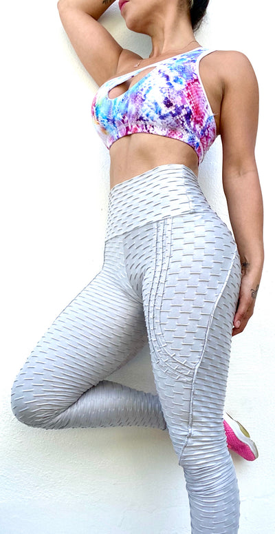 Push Up Zero Flaws Metallic Silver - ABS2B FITNESS APPAREL