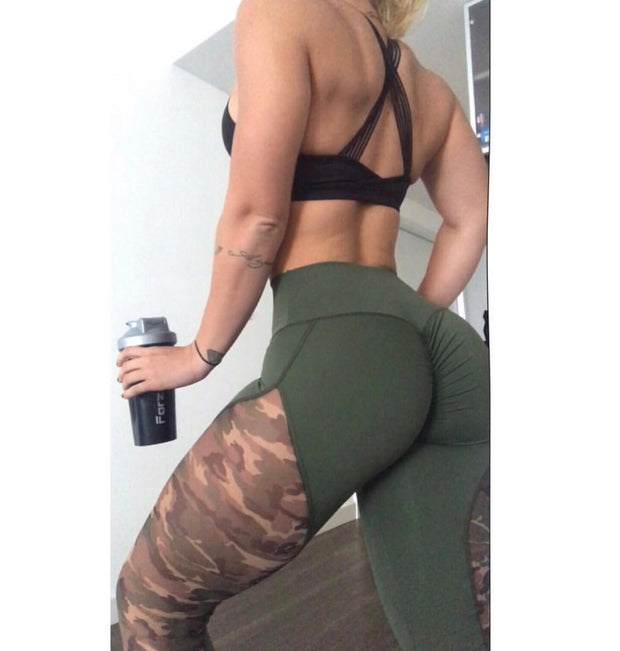 Special Edition Army Green/Camo - ABS2B FITNESS APPAREL