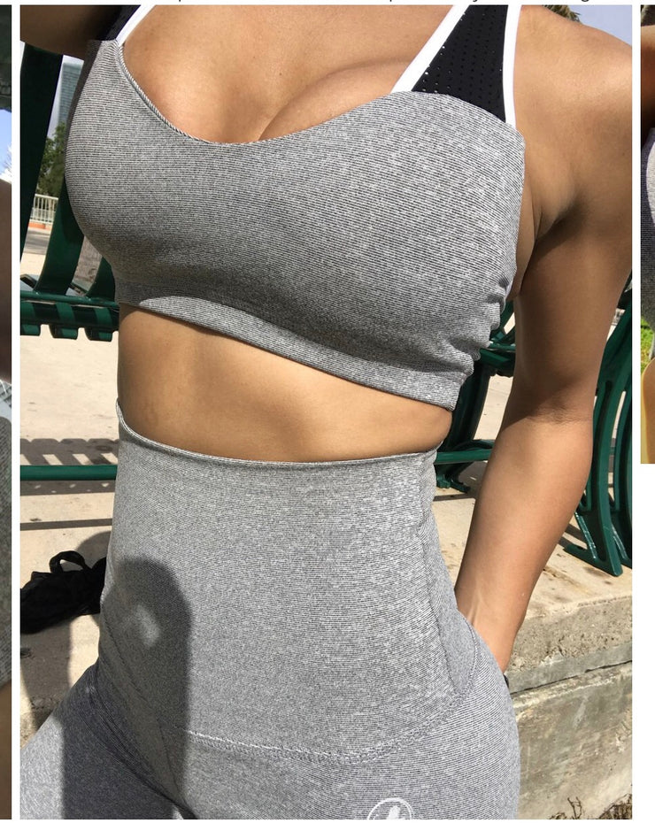 Candy Mesh Ash Gray Special Edition - ABS2B FITNESS APPAREL