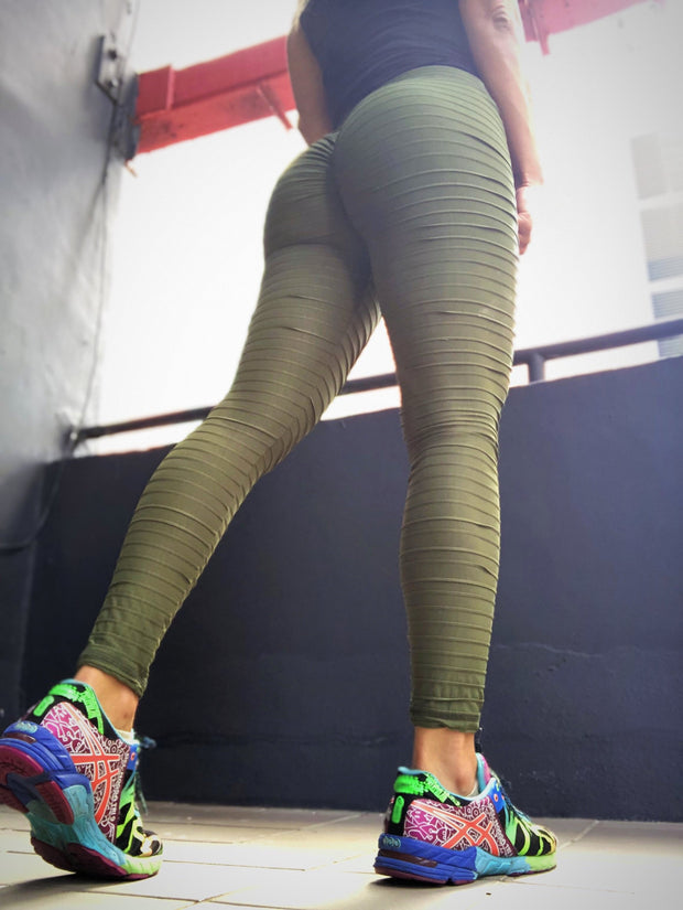 Kitty Kat in Army Green - ABS2B FITNESS APPAREL