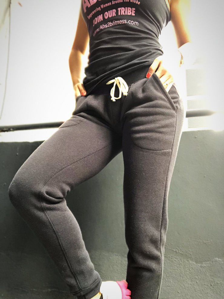 Scrunch Booty Joggers Black