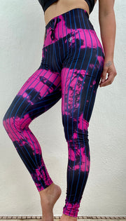 Tie Dye Joggings Berry Black