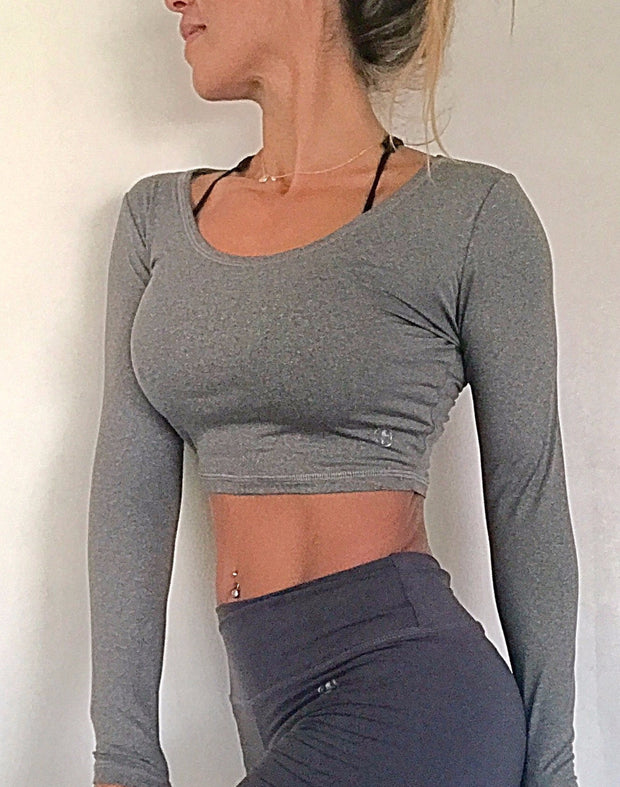 Kari Cropped flex Top (all colors/prints) - ABS2B FITNESS APPAREL
