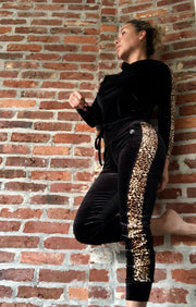 Velvet Babe Cheetah Love Jogger OR Tracksuit - ABS2B FITNESS APPAREL