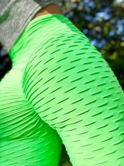 Zero-Flaws Neon Green - ABS2B FITNESS APPAREL