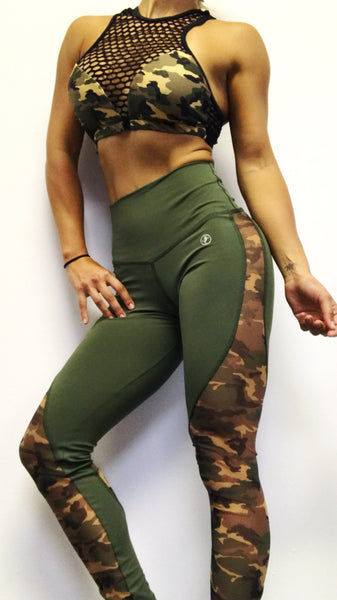 The Net Bra & Mesh Army Pant ( No promo codes please)