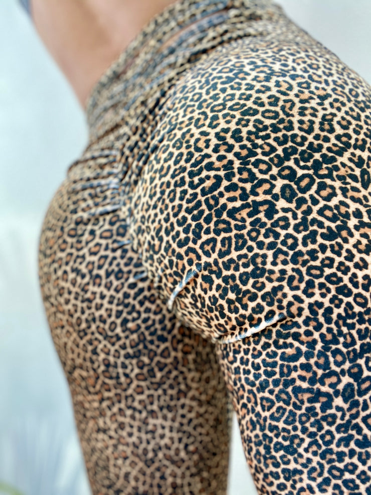 Smooth Velvet Mini Cheetah - ABS2B FITNESS APPAREL