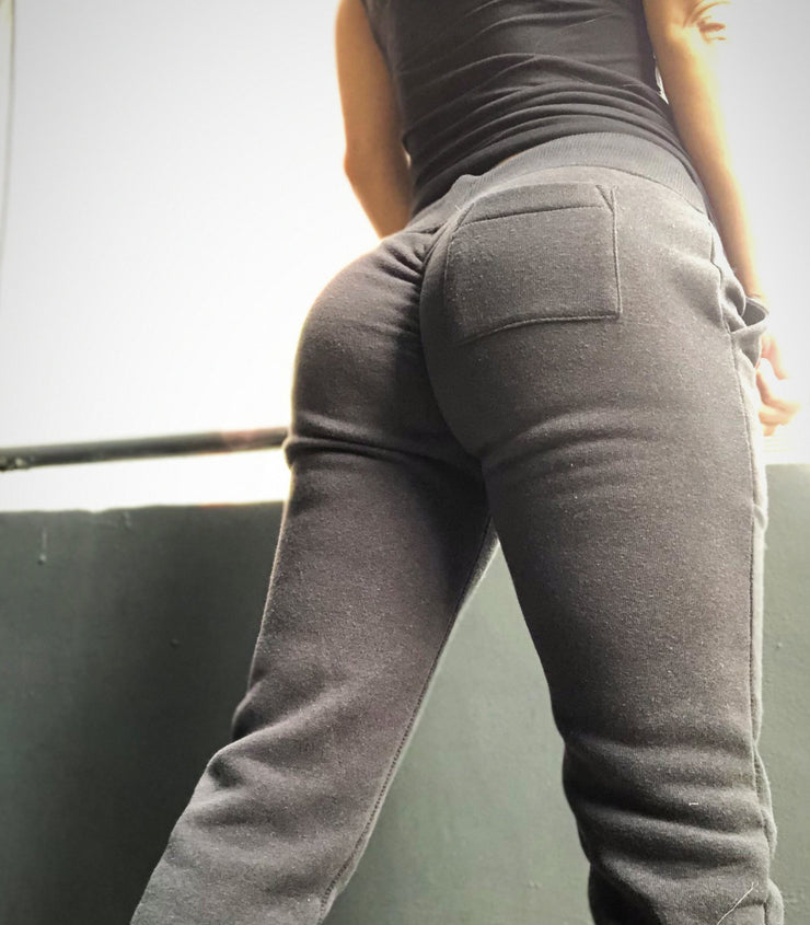 Scrunch Booty Joggers Black - ABS2B FITNESS APPAREL