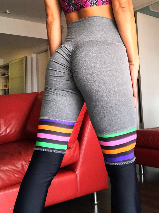 High Knee Stripes!! (Pick your colors) - ABS2B FITNESS APPAREL