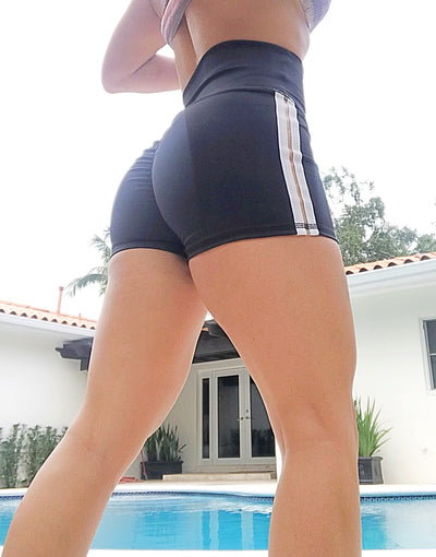 Track Stripes Shorts