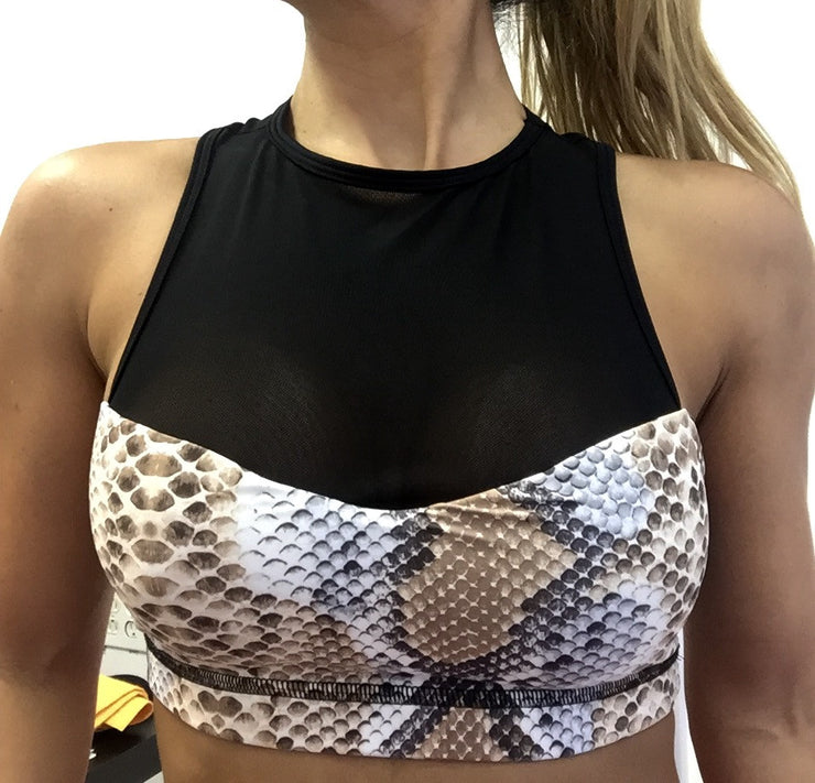 Lolita Ultra Push Up Mesh Sports Bra - ABS2B FITNESS APPAREL