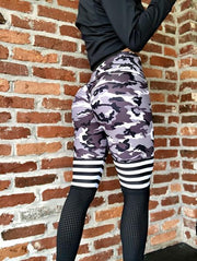 Camo B&W Special High Knee - ABS2B FITNESS APPAREL