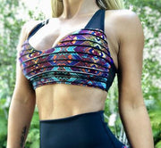Ultra Push Up/ Alaina Bra (All Prints) - ABS2B FITNESS APPAREL