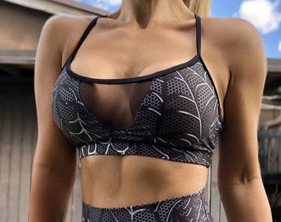 Julie String Sports Bra (All Colors/Prints) - ABS2B FITNESS APPAREL