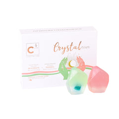 Crystal Soap Kit - Malachite + Rose Quartz