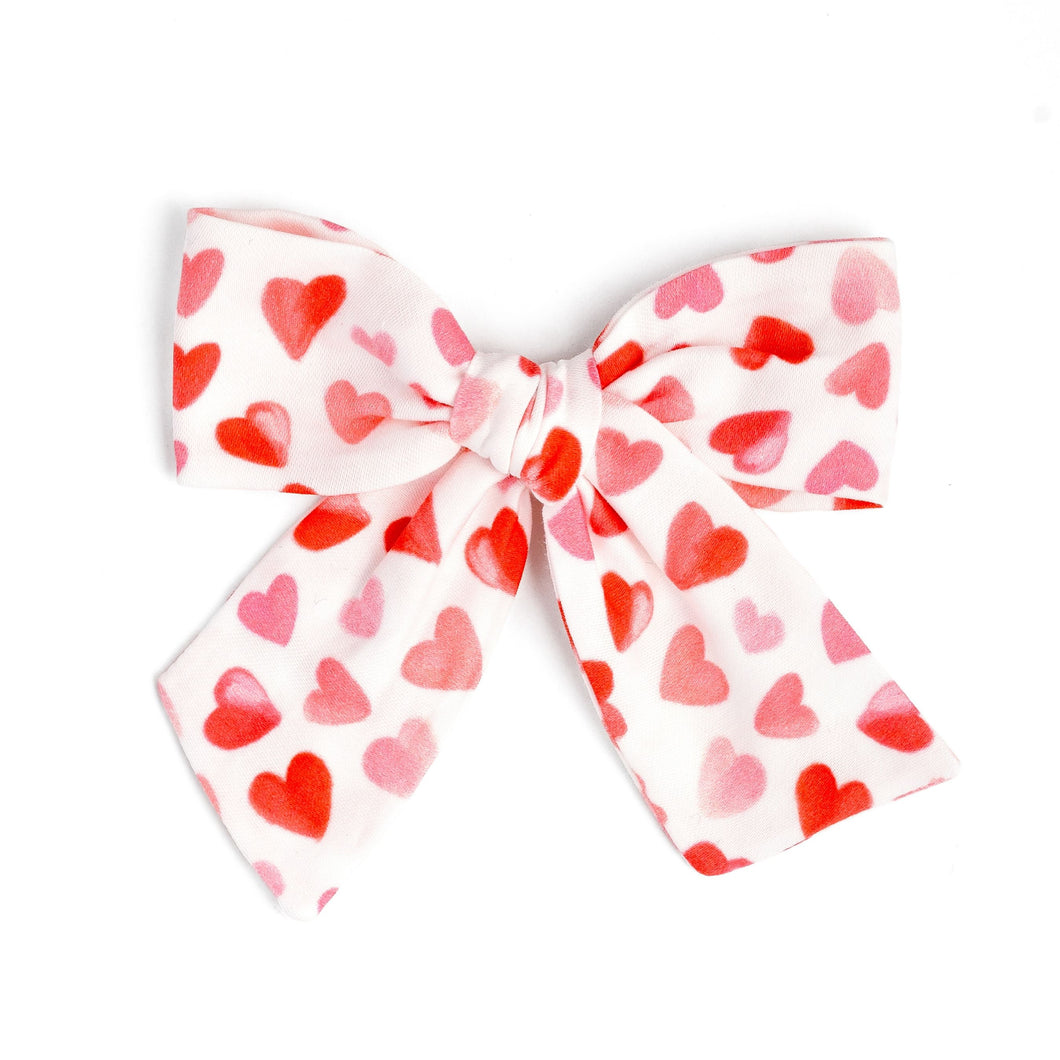 Heart to Heart | Valentine's Hair Bow