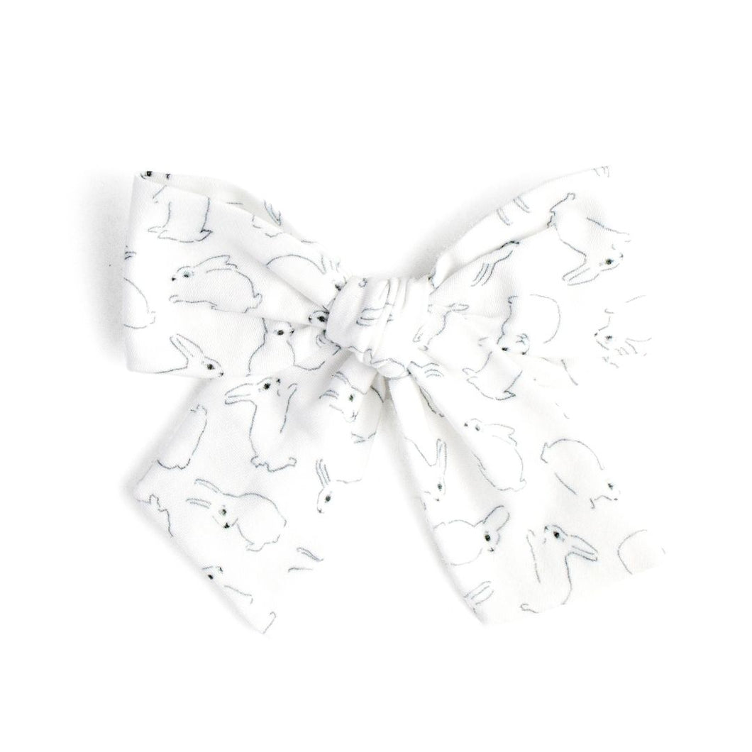 Hop To It | Spring Hair Bow