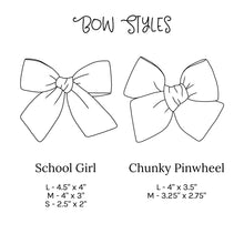 Load image into Gallery viewer, Umbrella Stripes | Spring Hair Bow