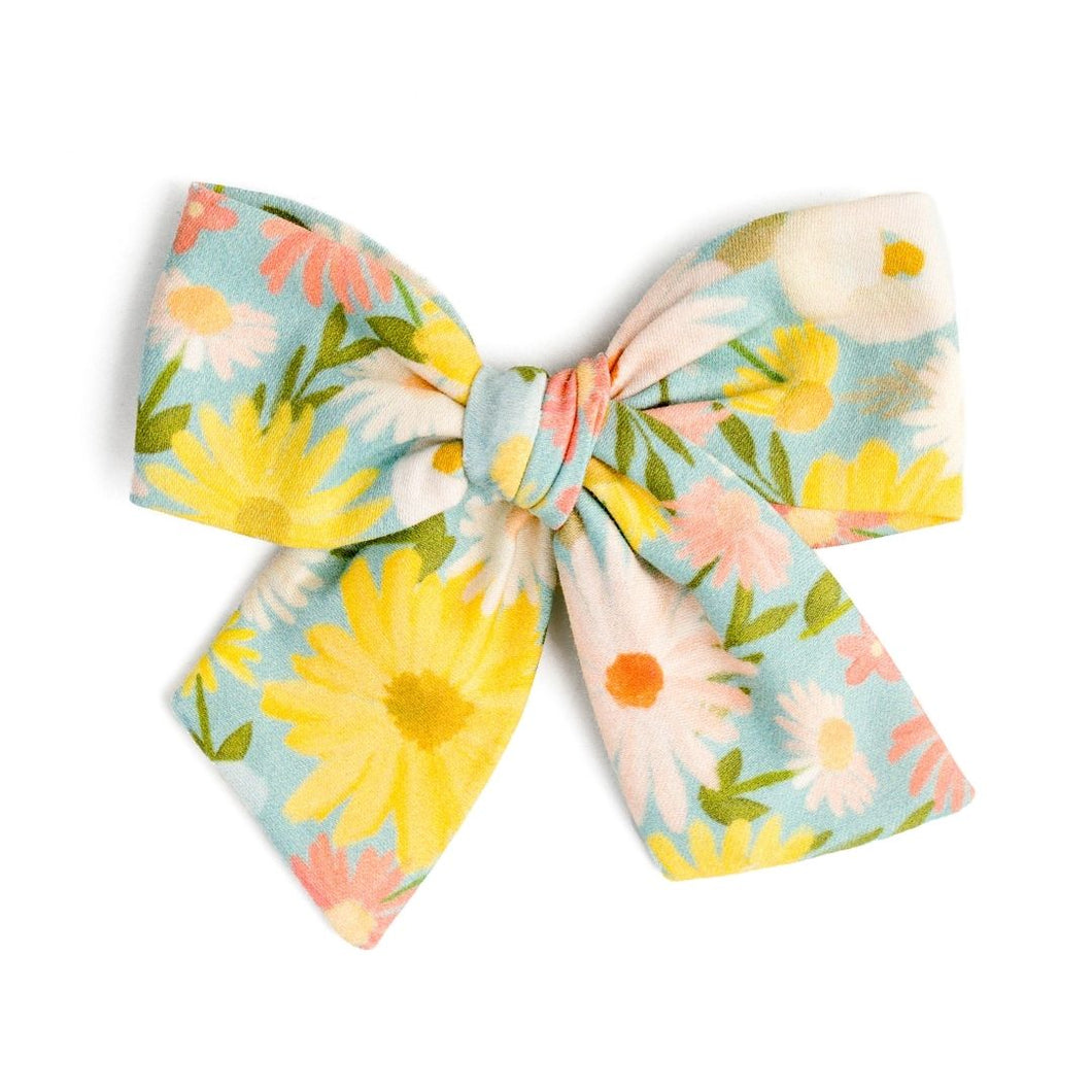 Easy Breezy Floral | Spring Hair Bow