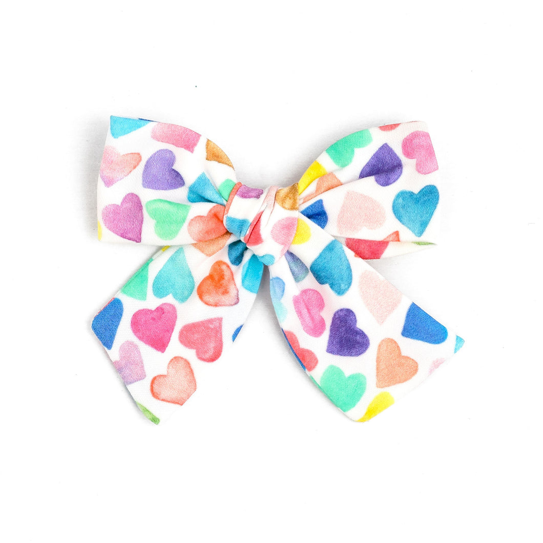 Bow of the Month - Candy Hearts