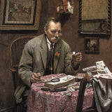 The Stamp Collector, Spencelayh