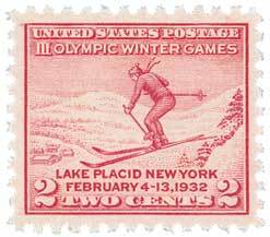 US 716 Olympics Winter Postage Stamp