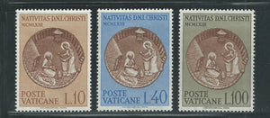 Vatican City 372-74 Postage Stamps Christmas